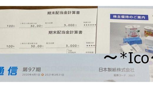 株主優待・3863日本製紙